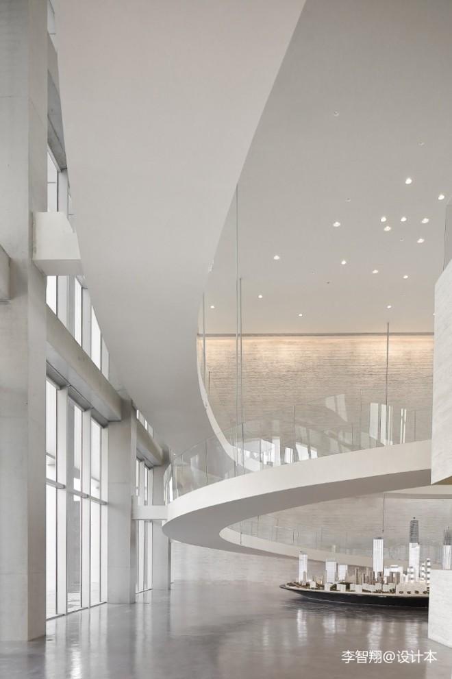 华润置房地产售楼处廊道设计