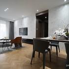 客厅以及餐厅墙面砖和餐厅地板砖颜色搭配