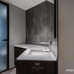 MODERN简约风卫浴洗手台设计