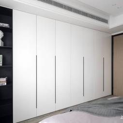 盐系风卧室衣柜设计图
