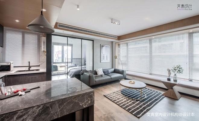 现代两居室客厅飘窗实景图片