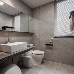 现代两居室卫浴设计