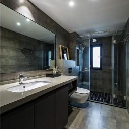 现代商务风卫浴设计