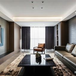 现代商务风客厅沙发图