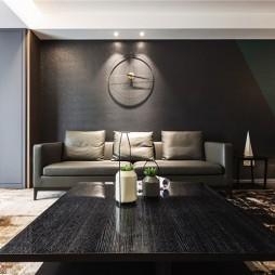 现代商务风客厅沙发图片