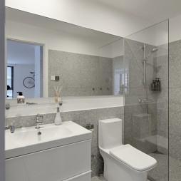 极简公寓卫浴设计图