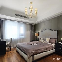 低奢新美式卧室吊灯图片