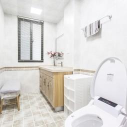 柔和美式卫浴设计图片