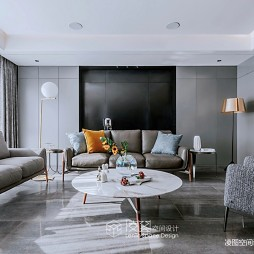 品质现代风客厅沙发图片