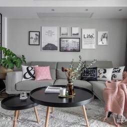 超美INS风客厅沙发图片