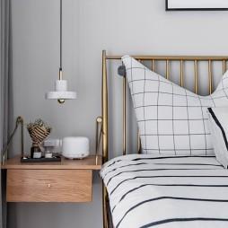 超美INS风卧室床头柜设计