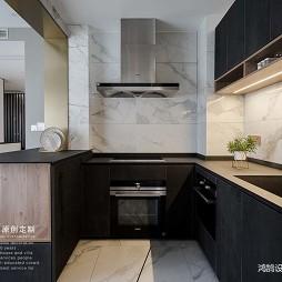 平凡现代风厨房设计图