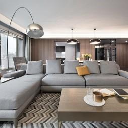 278㎡现代低奢客厅沙发图