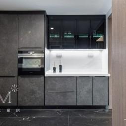 278㎡现代低奢厨房橱柜设计