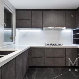 278㎡现代低奢厨房设计