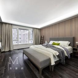 278㎡现代低奢卧室设计图
