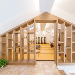 木质简约休闲区设计图片
