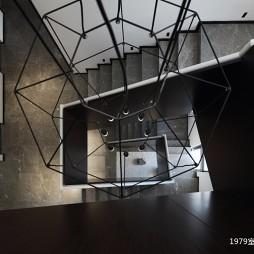 1979室内设计有限公司楼梯实景图