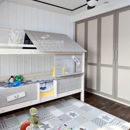 现代风格三居儿童房设计