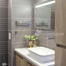 现代风格三居洗手台设计