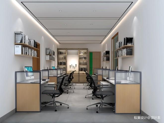 西宁办公室现代效果图_3605651