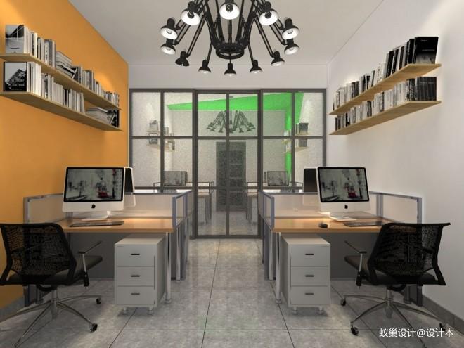 西宁办公室现代效果图_3605654