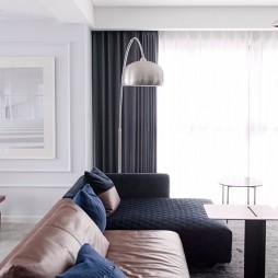 现代复古客厅钓鱼灯设计