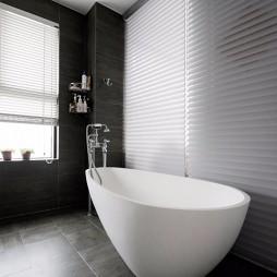 现代复古卫浴浴缸设计