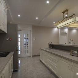 中式复式大厨房设计图片