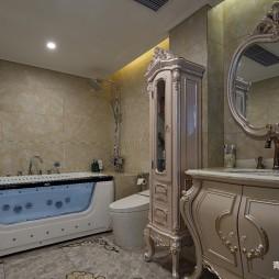 中式复式卫浴设计图片
