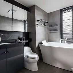 台式现代风卫浴实景图片