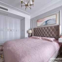 简单整洁美式卧室设计图