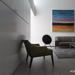 极简客厅设计图