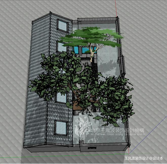 酒店设计,新中式风格_3609402