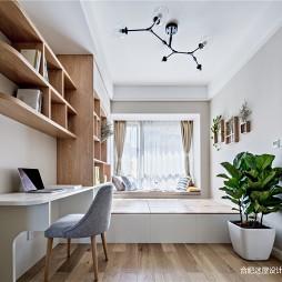 北欧风书房设计图片