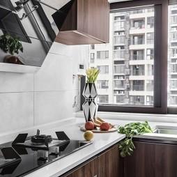 台式现代厨房设计图