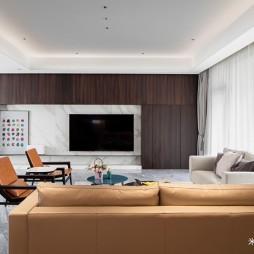 现代风格开放式客厅设计图
