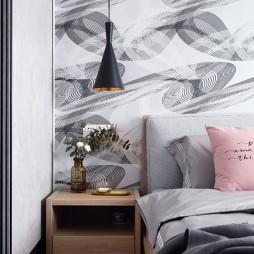 北欧极简卧室吊灯图