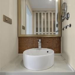 经典美式洗手台设计图