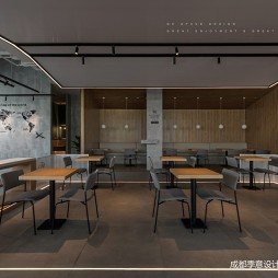 AKA CAFÉ咖啡店桌椅图片