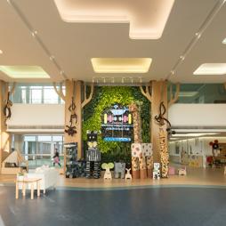 台州市中心幼儿园大厅设计图