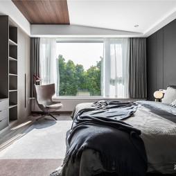 现代简约主卧室设计
