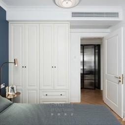 欧式豪华风卧室衣柜图片