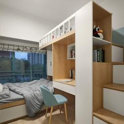北欧极简风儿童房设计