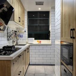 北欧极简风厨房设计图片
