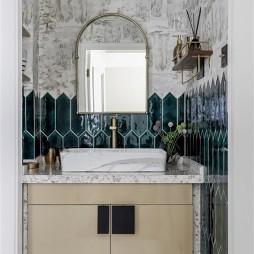 美式经典风洗手台设计图