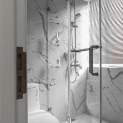 美式经典风淋浴区设计