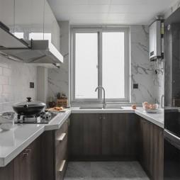 美式经典风厨房设计图