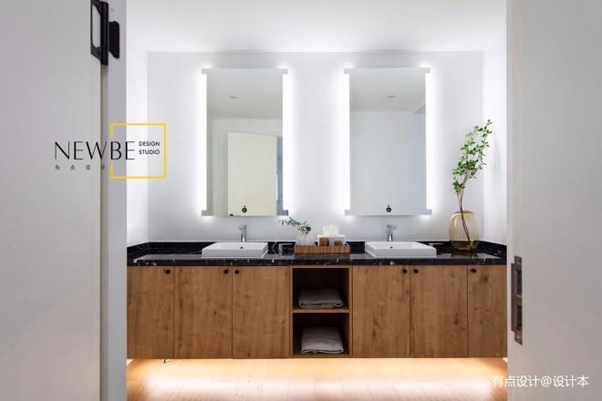 现代简约别墅豪宅洗手台设计图