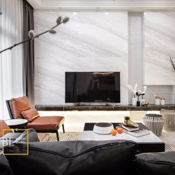 现代简约别墅豪宅客厅设计